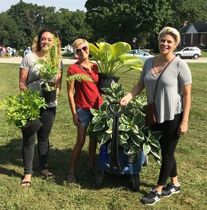 2018 Fall Gardeners' Market, photo by Laura Axel